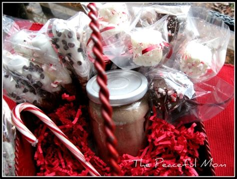 last minute gift idea hot cocoa gift basket the