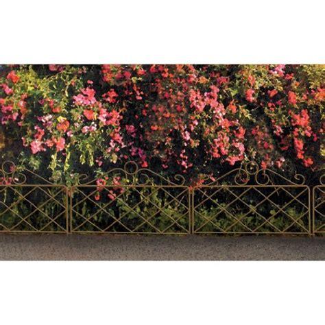 Decorative Garden Border Fence by Origin Point 060064 Azalea Classic Decorative Steel