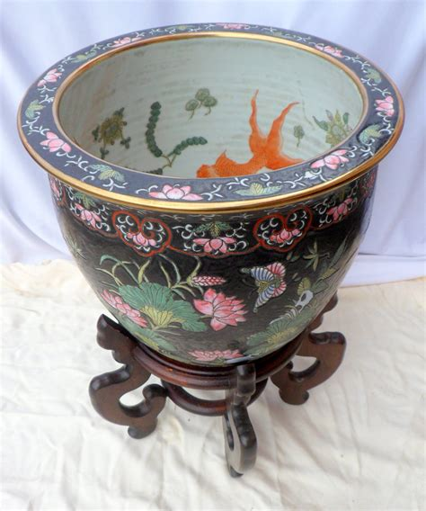 Fish Bowl Planters by Exceptional Large Ceramic Fish Bowl Planter Koi Pot