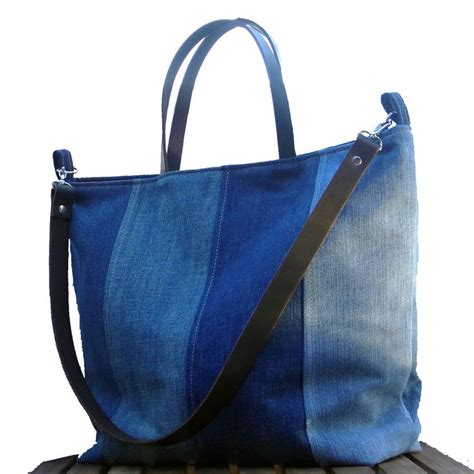 jeans tote bag pattern recycled denim tote bags patterns quotes