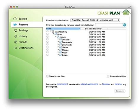 code42 crashplan for home unlimited backup 1