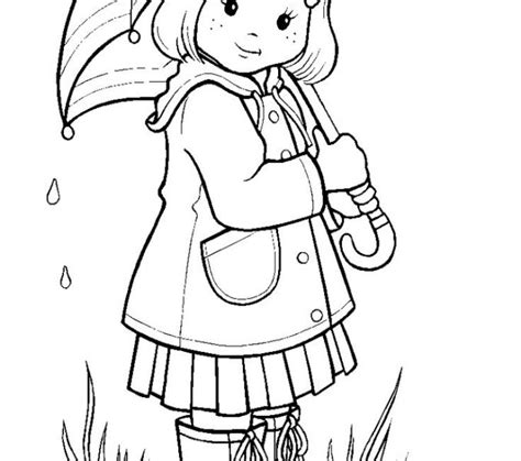 color and learn rain rainy season coloring pages printable coloring pages