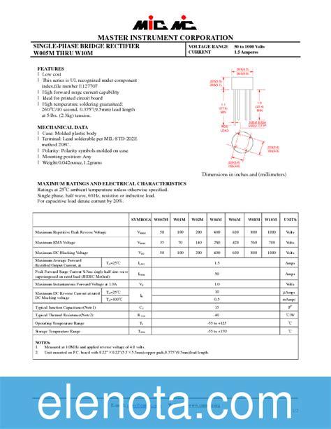 diode bridge w04g bridge diode w04m datasheet 28 images w04g 198585 pdf datasheet ic on line w02m datasheet