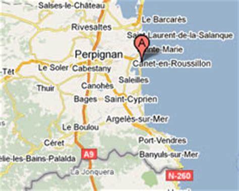 location vacances vue mer Canet Plage.