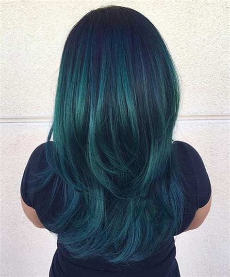 does phaedras hair teal 31 colorful hair looks to inspire your next dye job teal