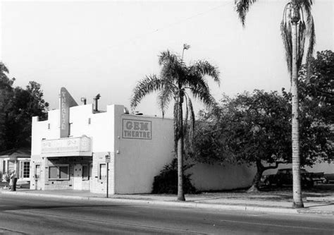 Theaters In Garden Grove by The Gem Theater C Late 1950s Garden Grove California