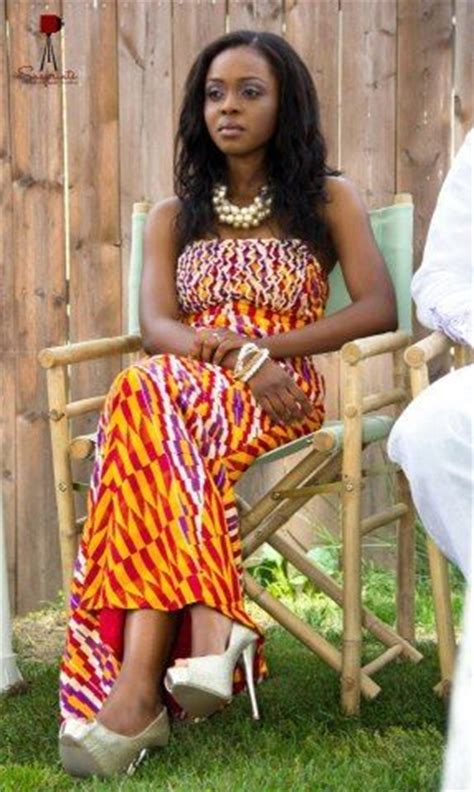 ghana most beautiful afiba wedding ghanaian bride brides bride s maids flower girls