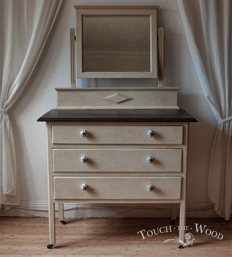 Shabby Chic Dresser With Mirror by Antique Shabby Chic Dresser With Mirror Drawer Chest No