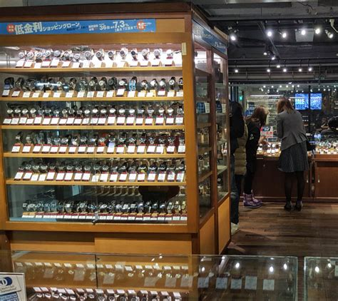 tokyo shop guide to buying used vintage watches in tokyo japan