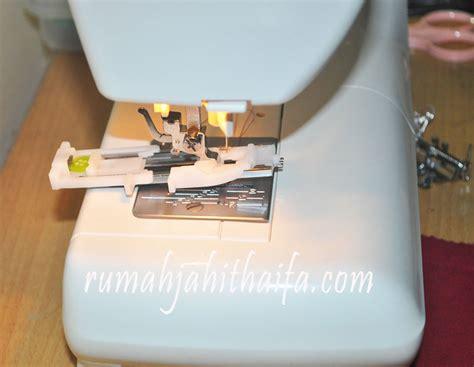 Mesin Jahit Janome Suv 1122 bikin lubang kancing dengan satu langkah di mesin jahit