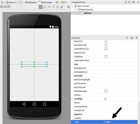 android studio layout width android activity state changes an android studio exle