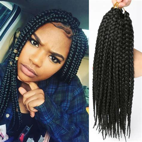 3 x caribbean braids box braids crochet braids synthetic hair jamaican colored