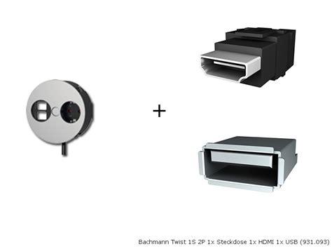 Power Strip For Desk Bachmann Twist 1s 2p 1x Power Socket 1x Hdmi 1x Usb 931