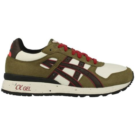 asics skate shoes buy asics gt ii trainers olive brown