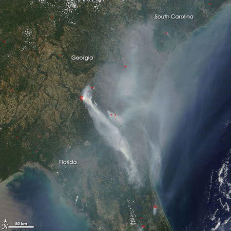 florida wildfires fires in georgia and florida natural hazards
