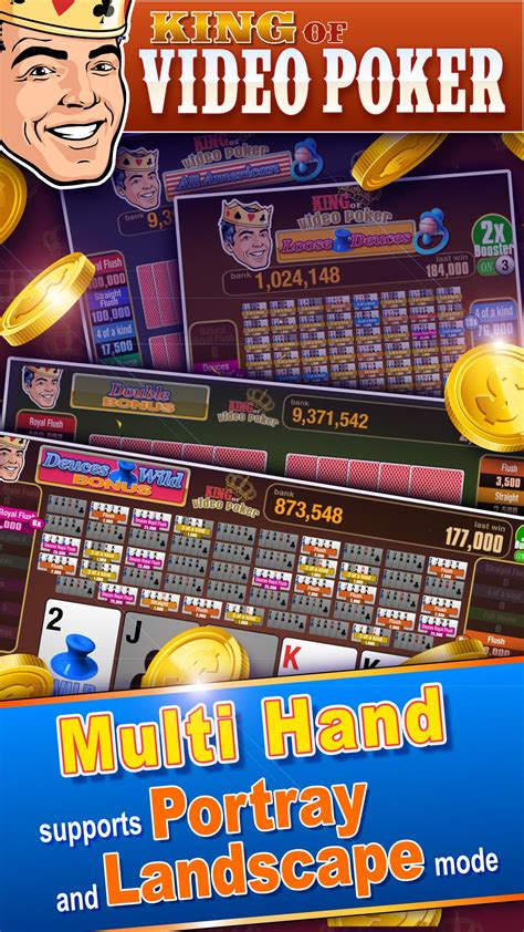 king video poker multi hand  android apk