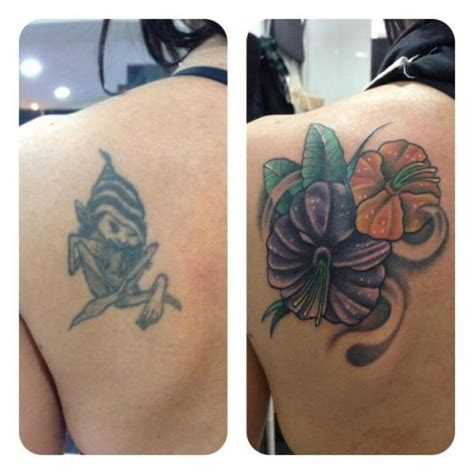 shoulder cover up tattoos shoulder flower cover up by carnivale