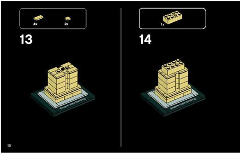 Lego Architecture Tutorial   lego empire state building instructions 21002 architecture