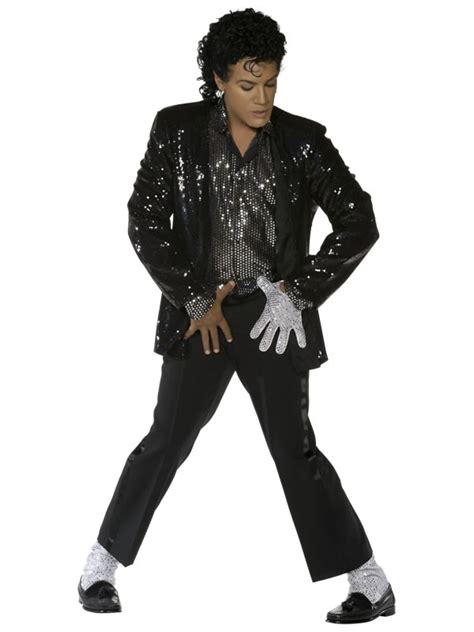 Worst Dressed Of The Day Michael Jackson by 80s Billie Jean Costume