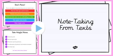 taking notes 5 college success tips jerzs literacy weblog taking notes from a book presentation note taking reading