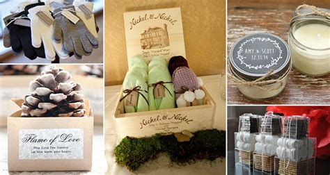 Winter Wedding Favors by 16 Winter Wedding Favors To Impress Your Guests