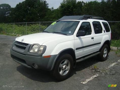 2002 cloud white nissan xterra se v6 11355682 gtcarlot car color galleries
