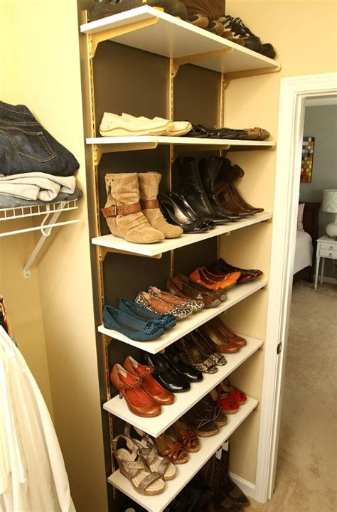 organizing shoes in a small closet 10 clever and easy ways to organize your shoes diy crafts