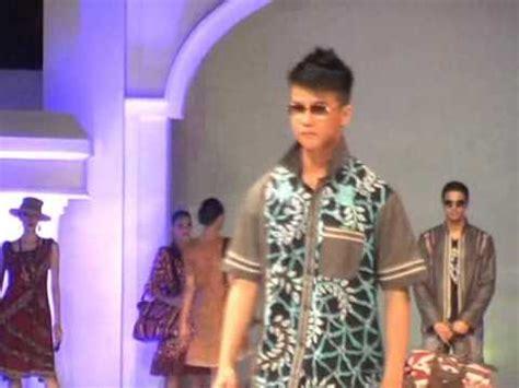 Kemeja Fashion Pria Verve Katun Stret Lengan Pendek fashion show batik pria batik trusmi