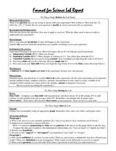 Scientific Report Sample Scientific Report Examples