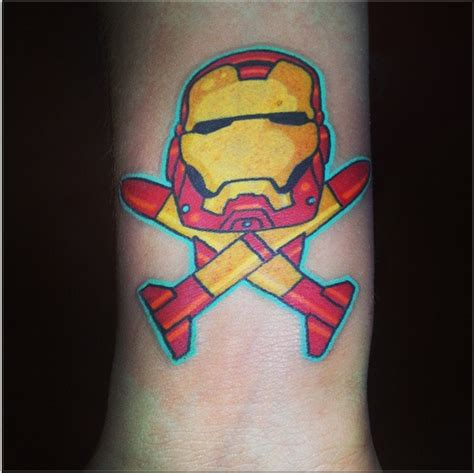 full body iron man tattoo iron man skull and crossbones tattoo by silentxrose on
