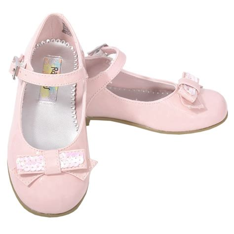 shoes pink patent sparkle bow dress shoes toddler