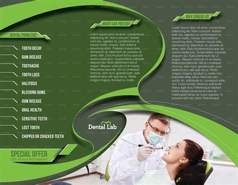 dental brochure templates dental trifold brochure template by redshinestudio