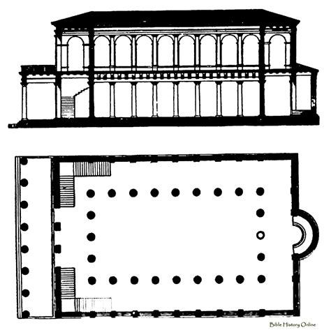 roman basilica floor plan basilica plan and central plan churches images frompo