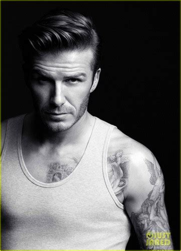 David Beckhams Armani Ad Revealed by David Beckham Images David Beckham Ads For H M