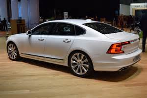 Volvo News New Volvo S90 Sedan Looking Sharp On Geneva Show Floors