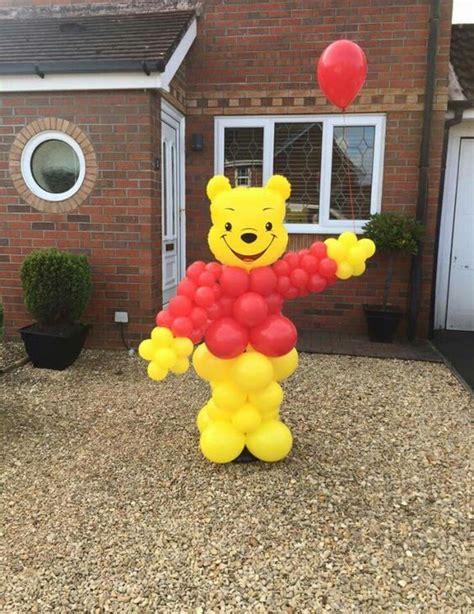 imagenes de winnie pooh con globos decoraci 243 n con globos de winnie pooh imagui