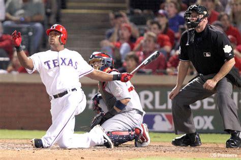 adrian beltre swing adrian beltre gets on bended knee blasts game tying homer