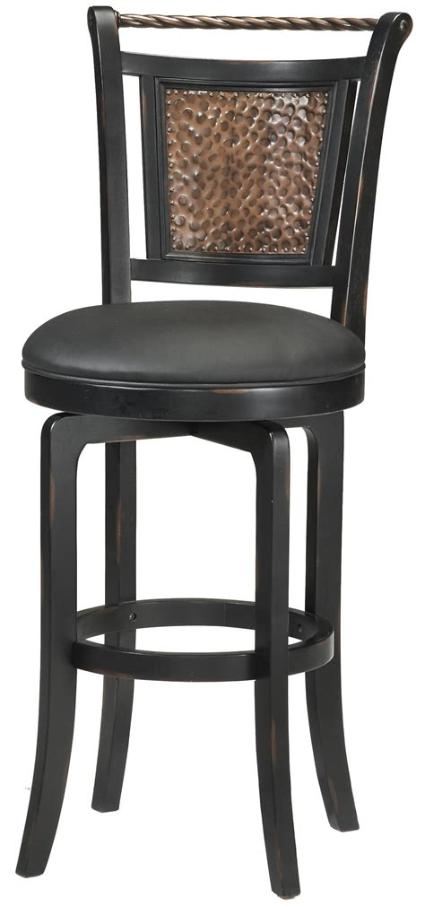 Counter Height Swivel Bar Stool Wood Stools 26 5 Quot Counter Height Norwood Swivel Stool By Hillsdale Wolf Furniture