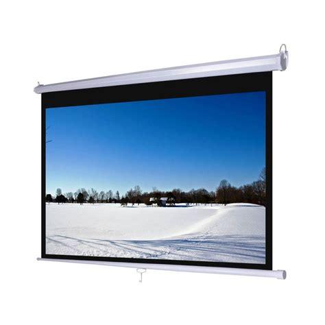 Fixed Frame Tripod Screen Projector Layar Proyektor 70 jual layar proyektor screen projector harga murah
