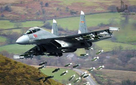 Chinese J-16 Long Range Strike Fighter Jet Dropping ... J 16