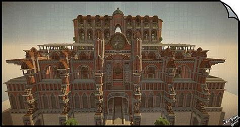 House And Home Design Blogs Symmetry Based Steampunk Mechanic Palace Building