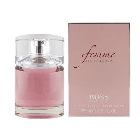 Hugo Femme by Hugo Femme Eau De Parfum 75 Ml Femme Hugo