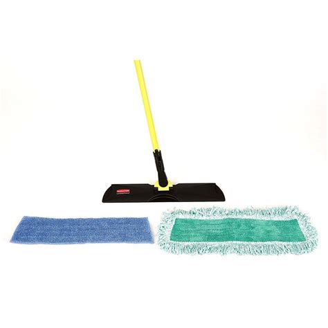 rubbermaid commercial products microfiber floor care kit