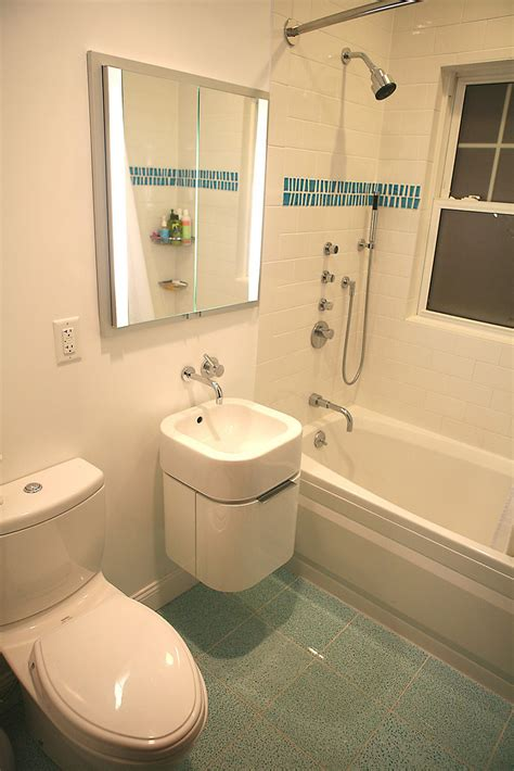 Showers And Tubs For Small Bathrooms Alcove Bathtub Small Bathroom With Floating Sink And Cabinet And Alcove Bathtub Shower Small