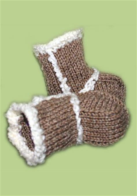 baby knitted ugg boots 1000 images about knitting baby booties free pattern on