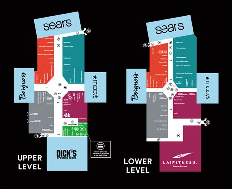 Layout Of White Oaks Mall | complete list of stores located at white oaks mall a