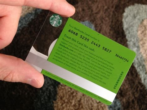 Starbucks Gift Card Balance Number - add gift card to starbucks app
