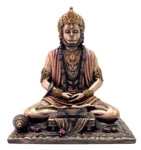 god statues hindu monkey god of strength perseverance and devotion statue