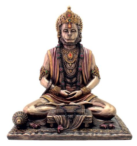 god statue hindu monkey god of strength perseverance and devotion statue