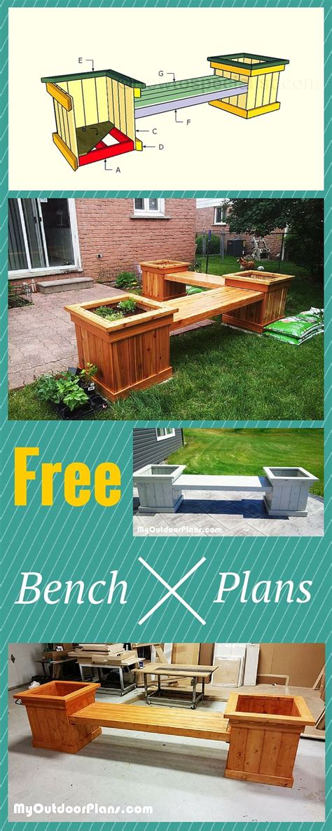 outdoor planter bench plans planter bench plans easy to follow tips tricks and
